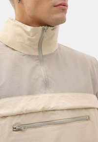 Dickies - ZIPPER POYDRAS - Windbreaker - light taupe