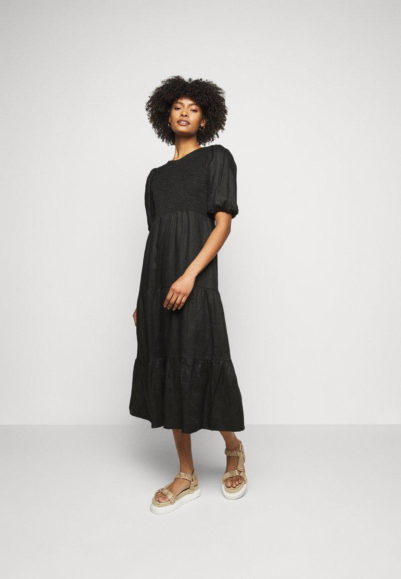 Faithfull the brand - ALBERTE DRESS - Denní šaty - plain black