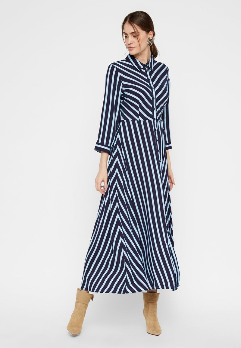YAS - Shirt dress - navy blazer