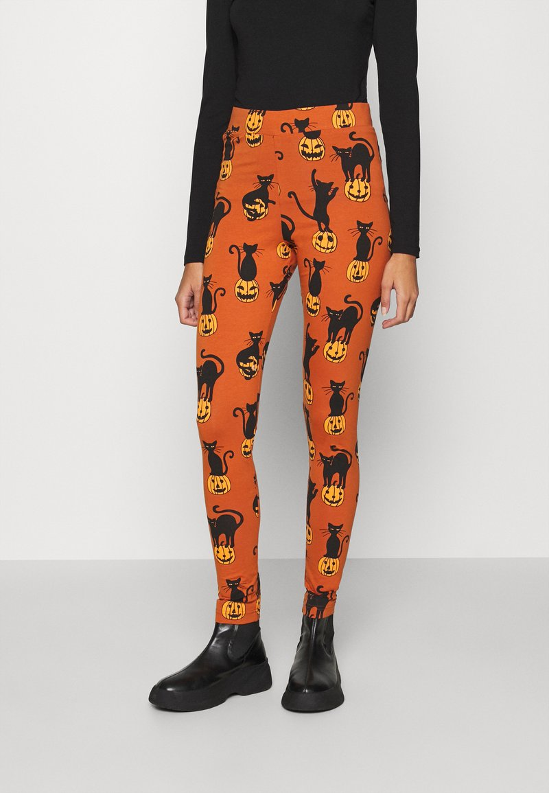 Monki - Leggings - Trousers - orange