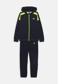 adidas Performance - TECH SET UNISEX - Trainingspak - dark blue - 0