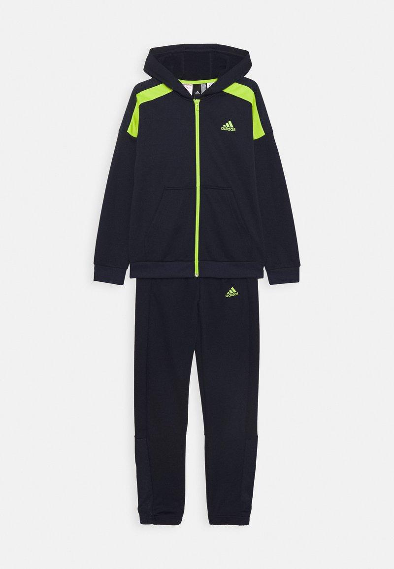 adidas Performance - TECH SET UNISEX - Trainingspak - dark blue