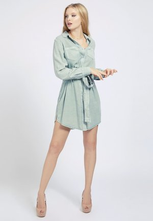 Shirt dress - grün