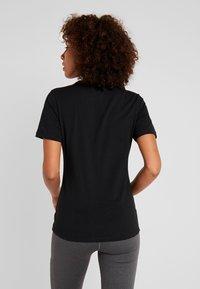 Ellesse - BARLETTA - Print T-shirt - black - 2