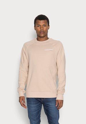 FELPA CREWNECK - Sweatshirt - sand