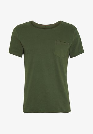 SLIM  - Camiseta básica - forest green