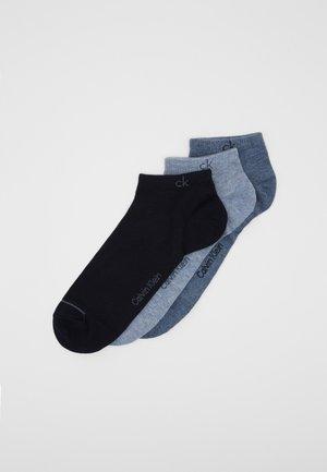 MEN LINER 3 PACK - Sportovní ponožky - denim combo