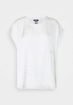 CAP POCKET  - Basic T-shirt - ivory