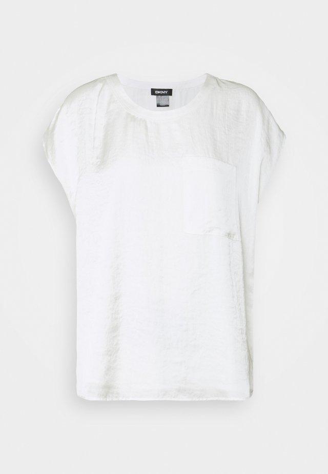 CAP POCKET  - T-Shirt basic - ivory