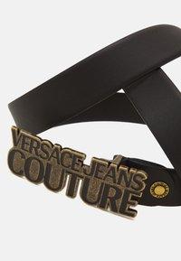 Versace Jeans Couture - Pasek - black/gunmetal - 3