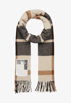 ARLAN - Scarf - beige/black/camel