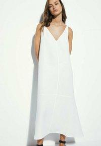 Massimo Dutti - Maxi dress - white - 3