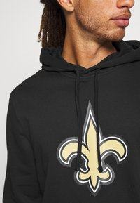 New Era - NFL NEW ORLEANS HOODIE - Club wear - black - 4