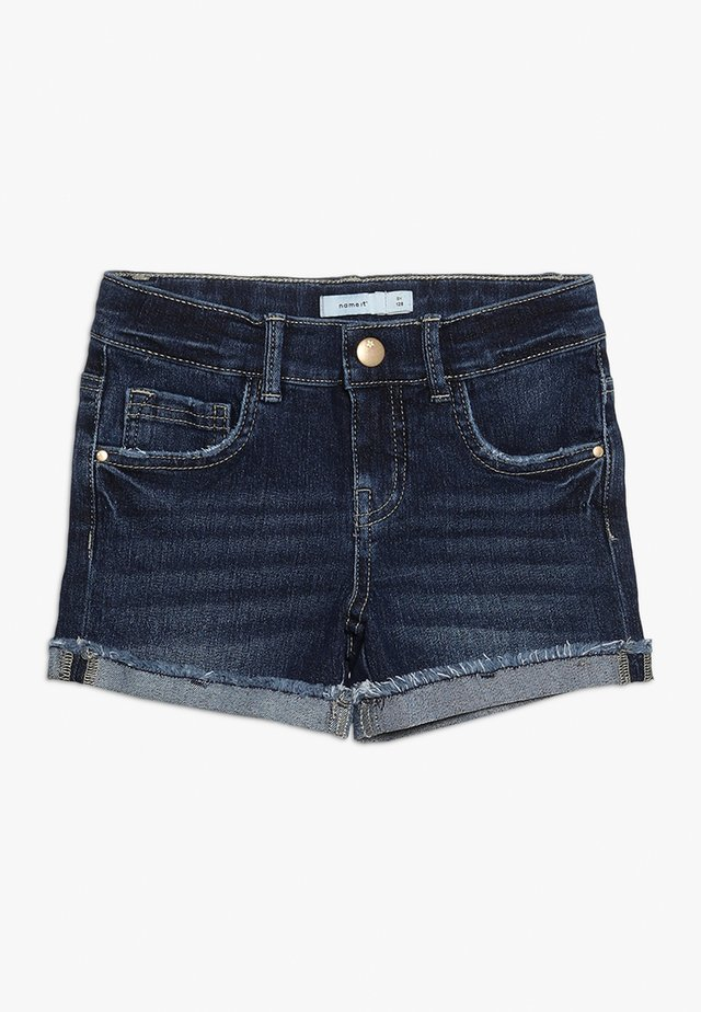 Shorts di jeans - dark blue denim