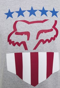 Fox Racing - FREEDOM SHIELD TEE - T-Shirt print - mottled grey - 2