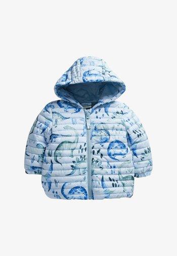 DINOSAUR HOODED - Winter coat - blue