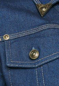 Versace Jeans Couture - LADY JACKET - Kurtka jeansowa - indigo - 5
