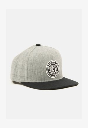 RIVAL  - Cap - heather grey / black / black