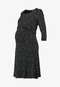 Noppies - DRESS NURS TATUM - Jerseykleid - black - 3