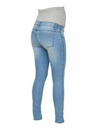 MAMALICIOUS - Slim fit jeans - light blue denim - 5