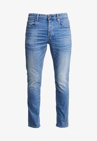 G-Star - 3301 SLIM FIT - Slim fit jeans - authentic faded blue - 3