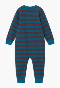 Sense Organics - STRINDBERG BABY ROMPER - Pyžamo - brown/blue - 1
