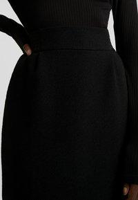 NAF NAF - MAILLARD - Mini skirt - noir - 4