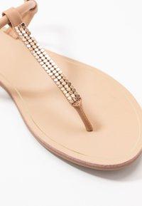ONLY SHOES - ONLMARGIT SPLIT TOE  - Flip Flops - nude - 6