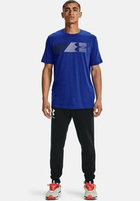 Under Armour - FAST LEFT CHEST - Print T-shirt - royal - 1