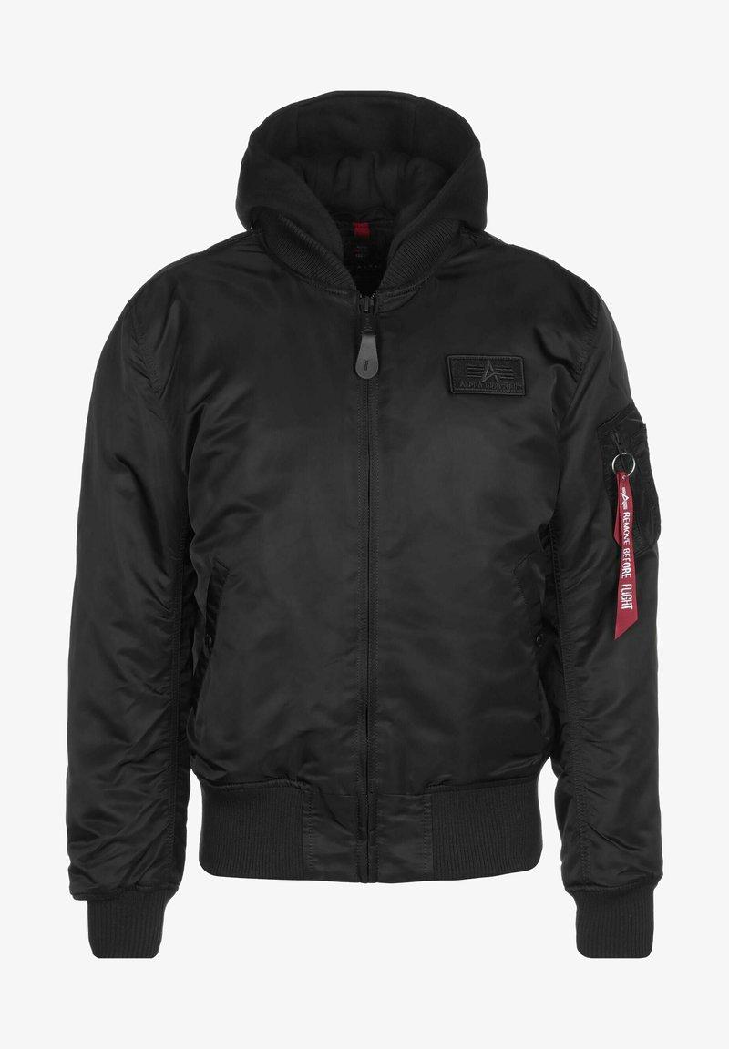 Alpha Industries - Bomber Jacket - black reflective