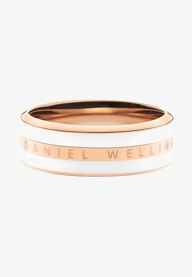 CLASSIC SATIN WHITE - Anello - rose gold