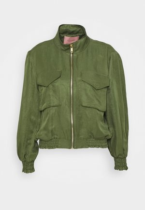 SHORT INBETWEEN JACKET IN BLEND - Summer jacket - military