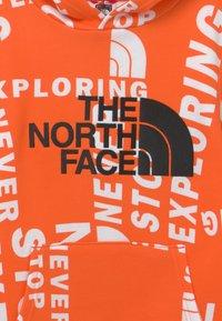 The North Face - DREW PEAK HOODIE UNISEX - Luvtröja - red orange - 2