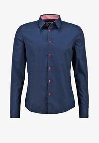 Koszula - dark blue/red