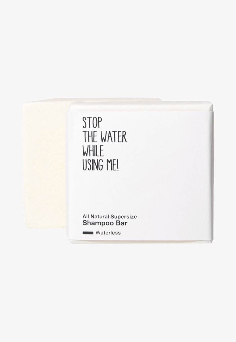 STOP THE WATER WHILE USING ME! - ALL NATURAL WATERLESS XXL SUPERSIZE SHAMPOO BLOCK - Shampoo - -