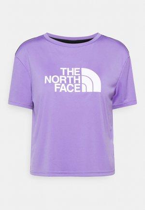 TEE - Print T-shirt - pop purple
