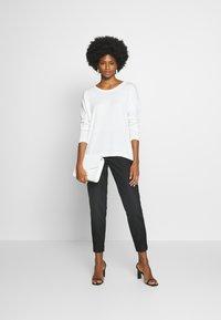 edc by Esprit - NECK ROUND - Jersey de punto - off white - 1
