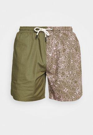 SMALL SIGNATURE - Shorts - sand