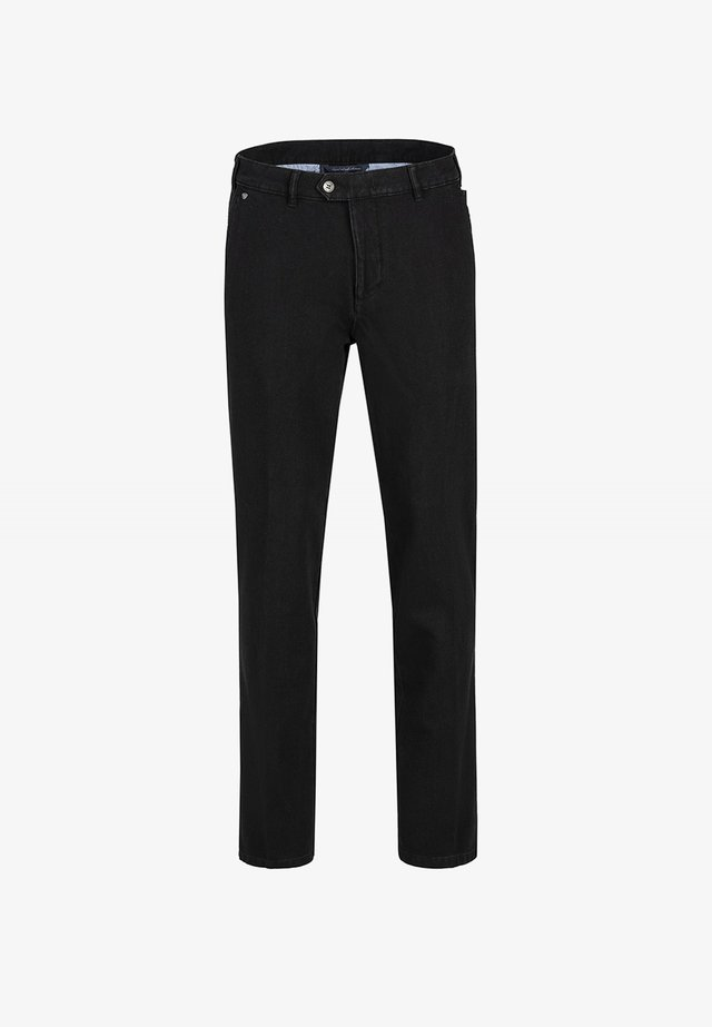 PARMA  - Straight leg jeans - tiefschwarz