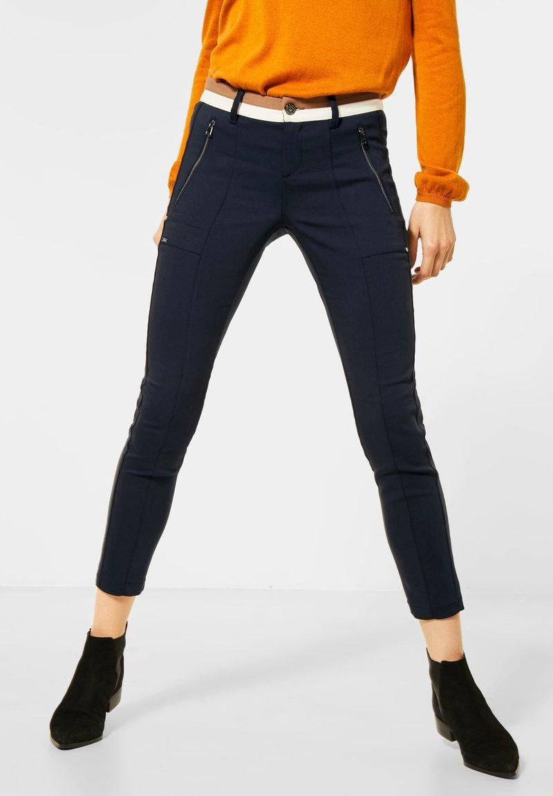 Street One - Trousers - blau