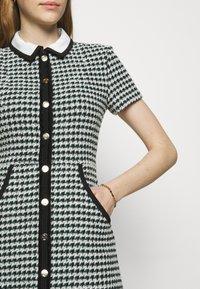maje - RENAGA - Shirt dress - ecru/vert - 4