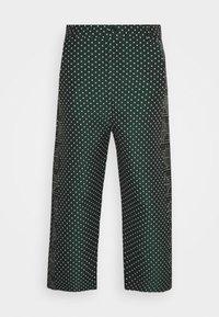 KEY PANTSMIX DRAIN MIXER - Trousers - dark green