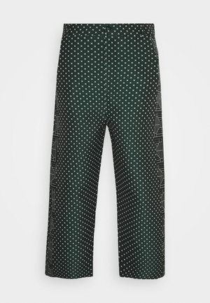 KEY PANTS MIX DRAIN MIXER - Trousers - dark green