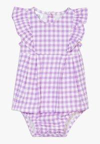 Carter's - DRESS GINGHAM - Vestido de cóctel - purple - 0