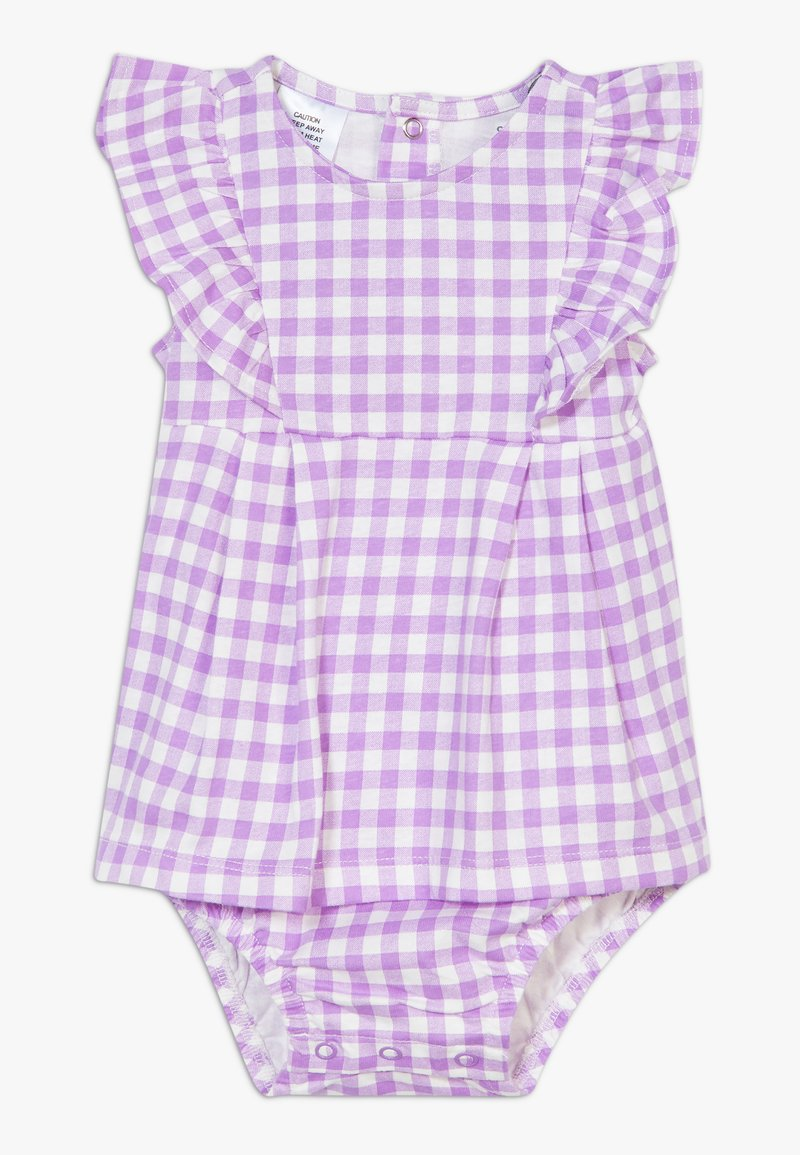 Carter's - DRESS GINGHAM - Vestido de cóctel - purple