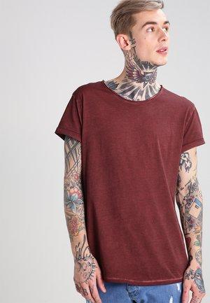 MILO - Basic T-shirt - vintage rust red