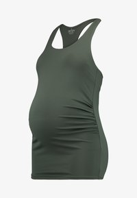 Cotton On Body - MATERNITY FITTED TANK - Linne - khaki - 3