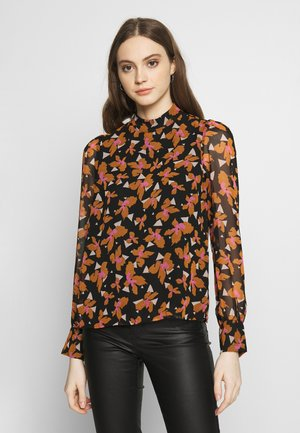 VMIRIS TOP - Bluser - black/iris
