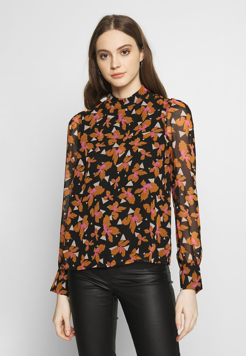 Vero Moda - VMIRIS TOP - Bluser - black/iris