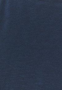 Marc O'Polo DENIM - LONG SLEEVE RAGLAN SLEEVE RELAXED FIT - Long sleeved top - dress blue - 2